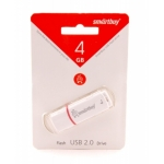 USB накопитель Smartbuy 4GB Crown White (SB4GBCRW-W)