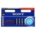 Sony  Элементы питания  Stamina Plus Alkaline  LR06-12BL strip , (12\120) (10209095/070518/0001591/6