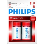 Элемент Philips LR-14 2-BL PowerLiFe (48) с\бл