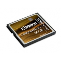 Карта памяти Kingston  Compact Flash 16-Gb 600xxx (Ultimate)