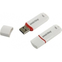USB 2.0 накопитель Smartbuy 128GB Crown White (SB128GBCRW-W)