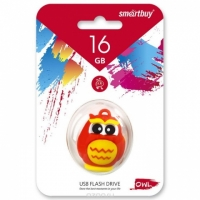 USB накопитель Smartbuy 16GB Wild series Сова