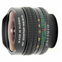Фотообъектив Зенит МС Зенитар-С Canon 16mm f=2.8 FishEye