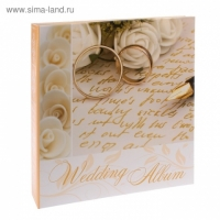 Фотоальбом 500ф 10X15см, ПП карм, пер-т 3-кольца, wedding rings, BIG DOG™, 3-o ring