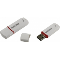 USB накопитель Smartbuy 16GB Crown White COMPACT (SB16GBCRW-W_С)
