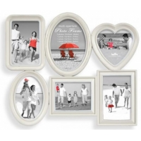 PI02299 Фоторамка Brighton IVI Cream Multi aps 6 opening photo frame (10)