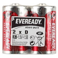 Элемент питания Energizer R20 Eveready (24/192)